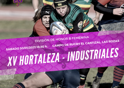 XV Hortaleza – Industriales: derbi madrileño de altura en DHB Femenina