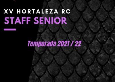 Conoce al staff Senior de la temporada 21/22