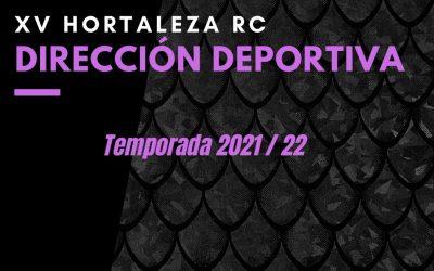 Nueva Dirección Deportiva temporada 21/22!!