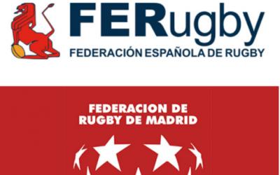 Jugadores y jugadoras de nuestros equipos de la Academia y Senior Femenino en las concentraciones de la FER y FRM