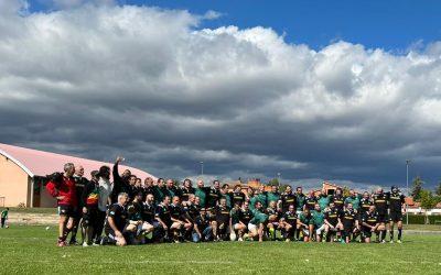 Asociación de Veteranos Rugby Soria- XV de Hortaleza. Un magnífico día de rugby desde el principio al final.